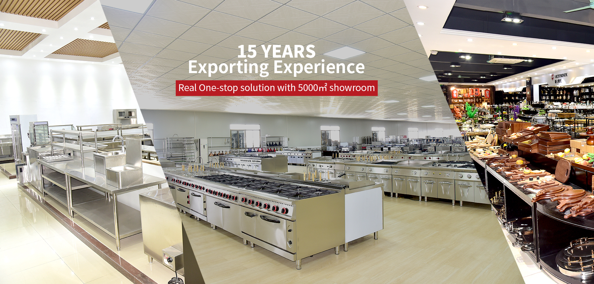 Real One-stop solution with 5000㎡ showroom
